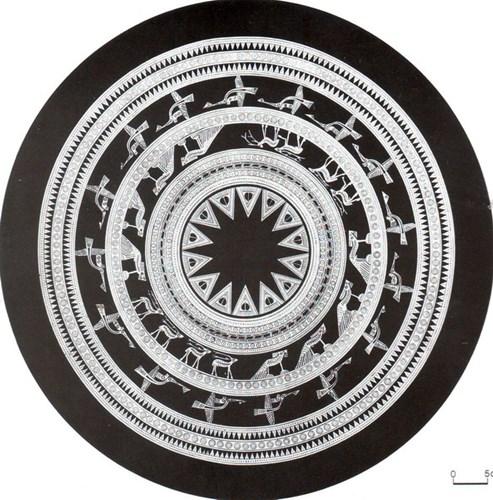 Ý nghĩa hình ảnh vòng đồng tâm số 1 của trống đồng