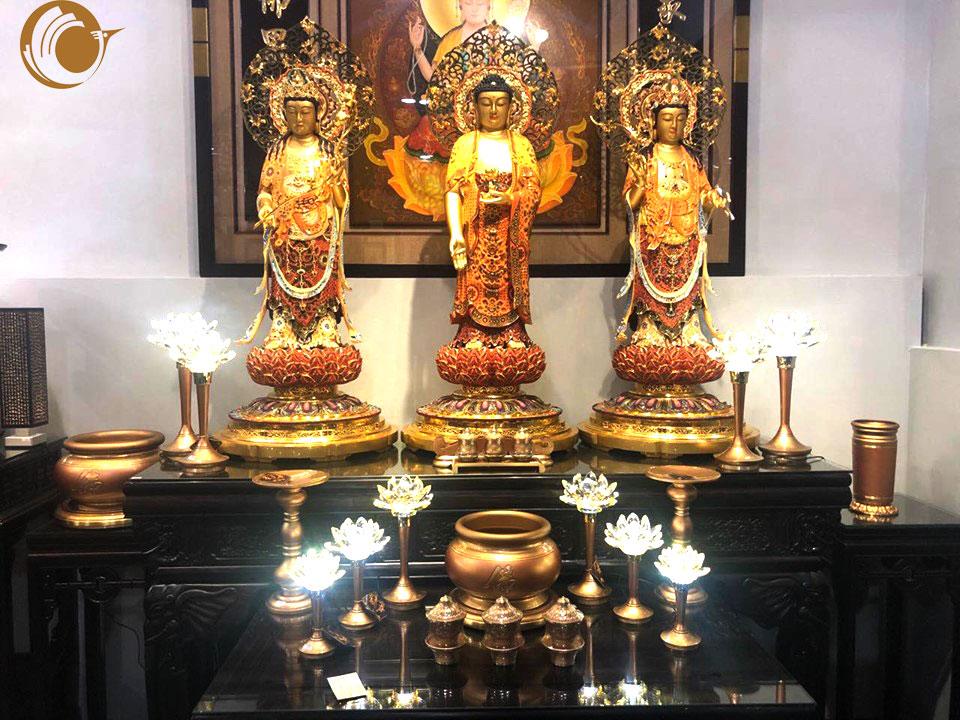 Những điều cần lưu ý trong việc thờ Phật tại gia